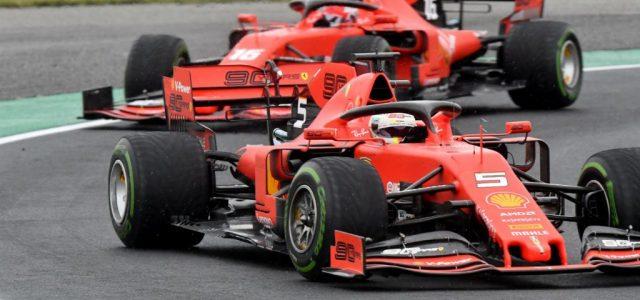 A Ferrarik uralták a szabadedzéseket Spában