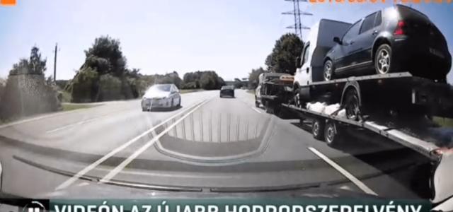 Ez a bolgár sofőr nagyon nem akart kétszer fordulni