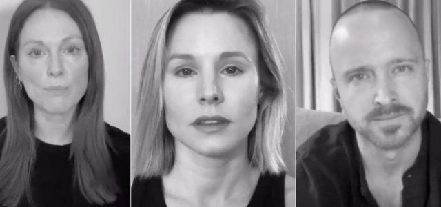 Julianne Moore, Kristen Bell és Aaron Paul közös kampányban szólaltak fel a rasszizmus ellen