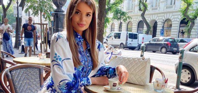 Nem a Szulejmánt forgatják Budapesten, csak Horváth Cintia kávézik egy teraszon