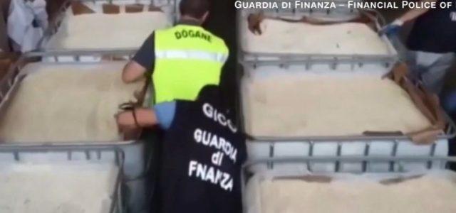 Egymilliárd eurónyi drogot foglaltak le Olaszországban, ami valószínűleg az Iszlám Államé