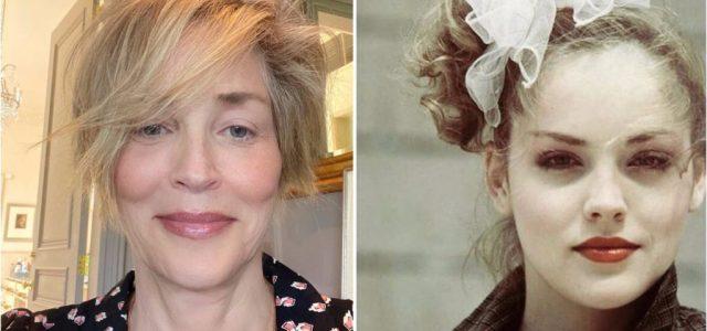 Sose mondanád meg, hogy Sharon Stone-ról több mint 40 év különbséggel készült ez a két fotó