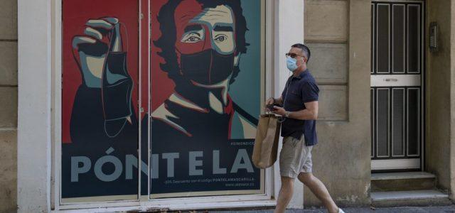 Megháromszorozódott a fertőzöttek száma Spanyolországban az elmúlt három hétben