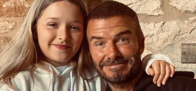David Beckham lánya inkább néz ki kamasznak ezen a képen, mint 9 évesnek