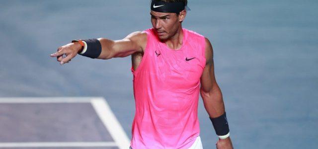Rafael Nadal sem indul el a US Openen