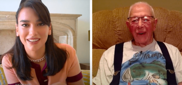 Dua Lipa időseket kérdezett arról, hogy tudják-e, kicsoda ő