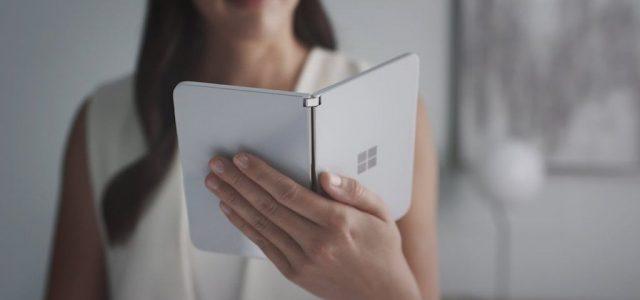 A Microsoft hivatalosan is megmutatta kétkijelzős, androidos kütyüjét