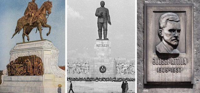 Sztálinná és József Attilává alakították át a főváros legszebb lovasszobrát