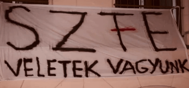 Levetette a Szegedi Tudományegyetem vezetősége a Színművészetit támogató molinót