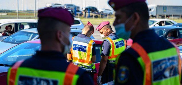 Nyolc megyében indul fokozott rendőrségi ellenőrzés hétfőn