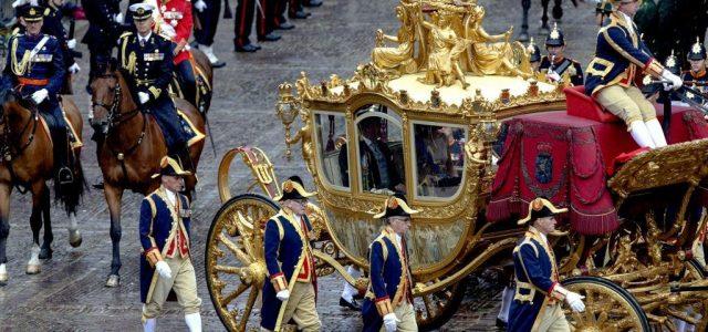 Nyugdíjazhatják a holland királyi család aranyozott hintóját