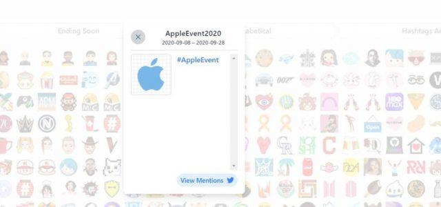 Különleges hashtag utal a közelgő iPhone-bemutatóra