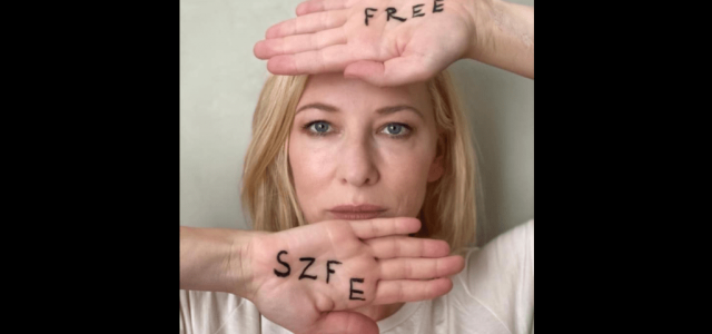 Cate Blanchett is kiállt az SZFE mellett