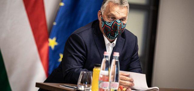 Orbán EU-s vezetőkkel tartott videokonferenciát