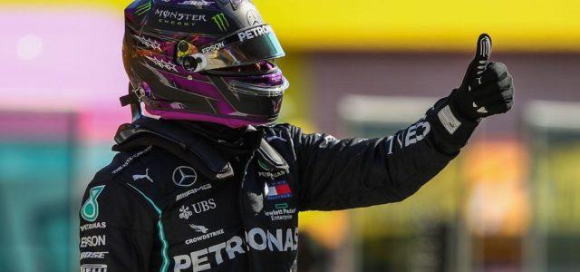 Lewis Hamiltoné a pole az első Toszkán Nagydíjon