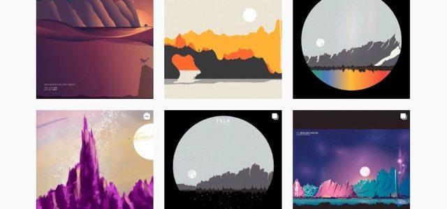 Tőzsdei grafikonokból készít tájképeket egy amerikai művész