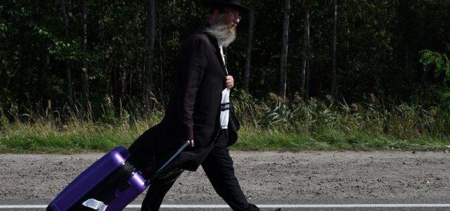 A belarusz-ukrán határon várakozó ezernél több haszid zsidó visszatért Belaruszba
