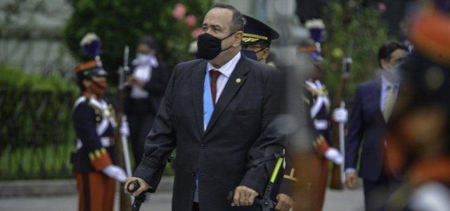 Koronavírusos lett a guatemalai elnök