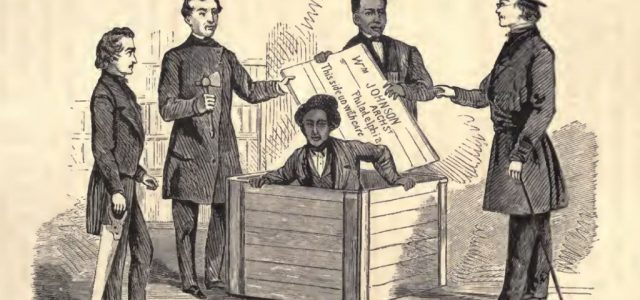 Egy ládában postázta el magát a rabszolga