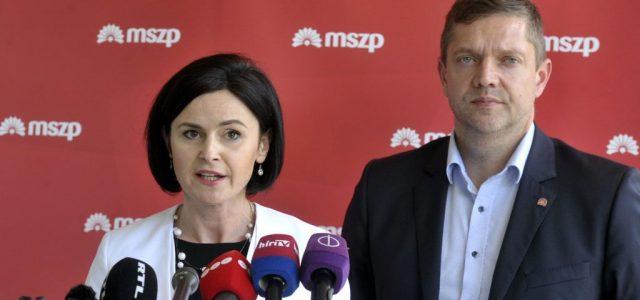 86 százalékkal választották az MSZP társelnökévé Tóth Bertalant és Kunhalmi Ágnest
