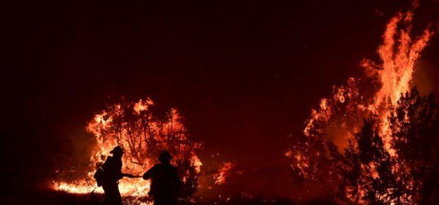 Az űrből is láthatóak az amerikai tüzek