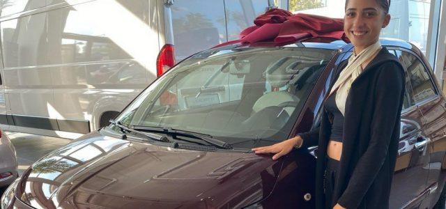 Schobert Lara vett egy új autót az összespórolt pénzéből
