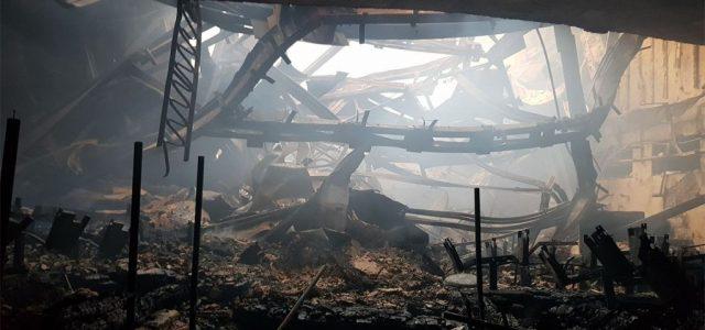Porig égett a Nemzeti Filharmónia épülete Kisinyovban