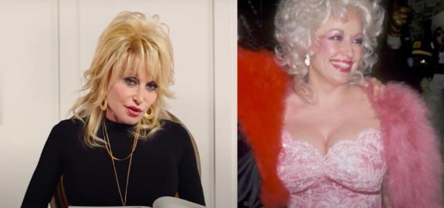 Itt egy videó, amiben Dolly Parton kielemzi a legőrültebb ruhaválasztásait