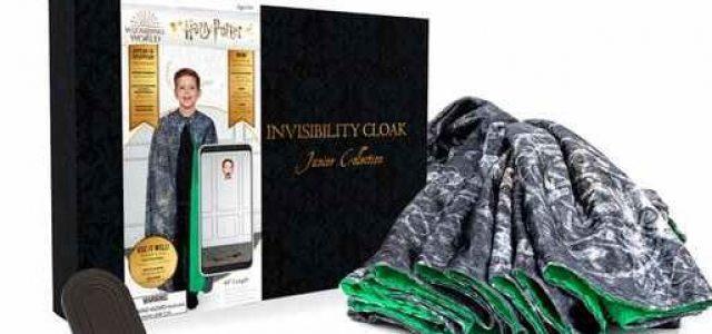 A Tesco elkezdte árulni Harry Potter láthatatlanná tévő köpenyét