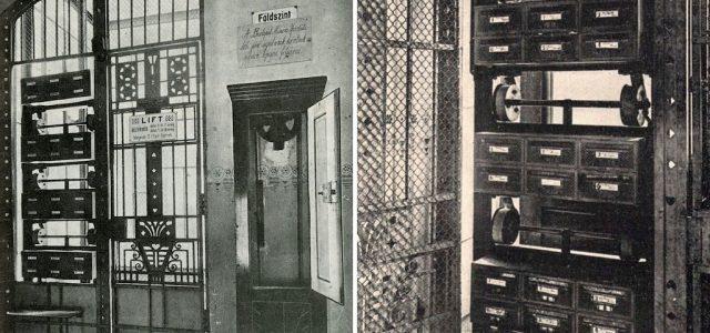 Száguldó levélliftek válthatták volna a postaládákat a tízes évek Budapestjén