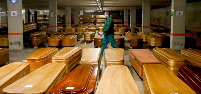 Sztrájkolni kezdtek a halottasházak Spanyolországban