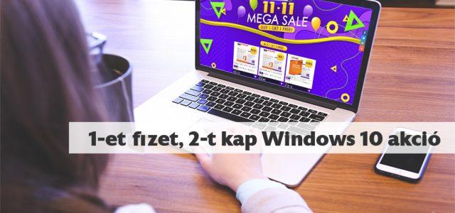 Akár ingyen is Windows 10-hez juthatsz – Keysoff 11-11 Mega Vásár (x)