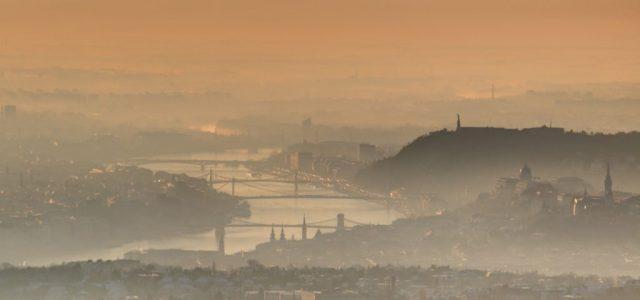 Így hatott a koronavírus Budapest levegőminőségére