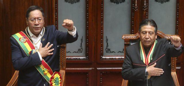 Bolíviában beiktatták Evo Morales elnöki utódját