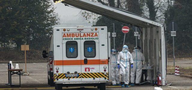 Koronavírus: Olaszországban április óta nem haltak meg annyian, mint az elmúlt 24 órában