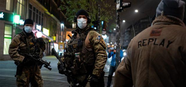 Így nézett ki Budapest a kijárási tilalom életbelépésekor