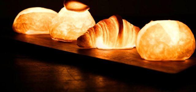 Bagettből és zsömléből készít lámpákat egy japán művész