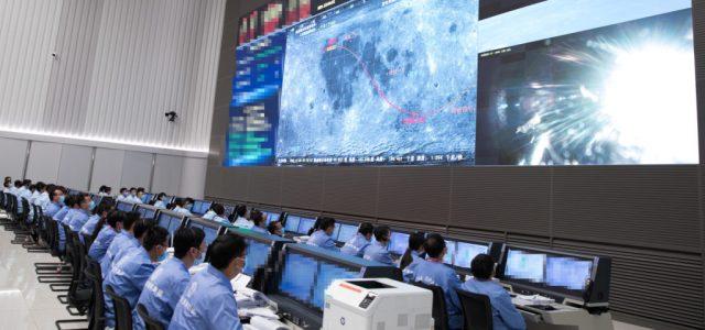 Felszállt a Holdról a kínai űrszonda