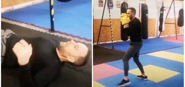 Járai Máté kipróbált egy küzdősportot, de már az óra felénél kifulladt