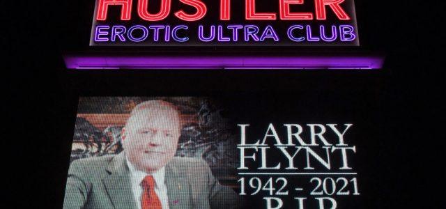 Sztriptízbárban vesznek végső búcsút Larry Flynt-től