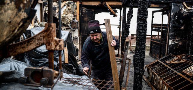 """""""Frászban van mindenki"""" – rejtélyes tűzesetek miatt aggódnak Albertirsán"""