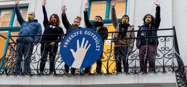 Halász Péter-különdíjat kapott a FreeSZFE mozgalom