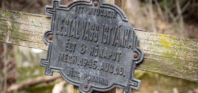 Gyermeksírokkal teli, elfelejtett temető bújik meg a főváros határában