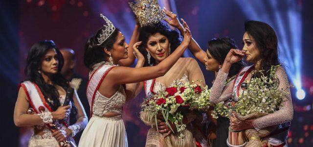 Letartóztatták az élő adásban balhézó Srí Lanka-i szépségkirálynőt