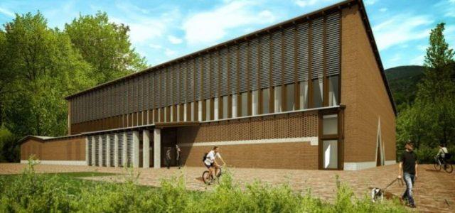 Egy közpark besorolású, dunaparti területen építhetnek kosárlabdacsarnokot Nagymaroson