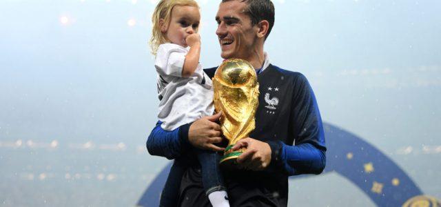 Antoine Griezmann mindhárom gyereke április 8-án született