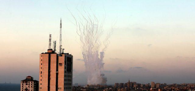 Szerda este is rakétatüzet zúdított a Hamász Izraelre