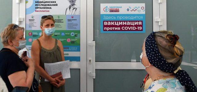 Oroszországban újraoltják azokat, akiknek alacsony szintre süllyedt az antitestszámuk